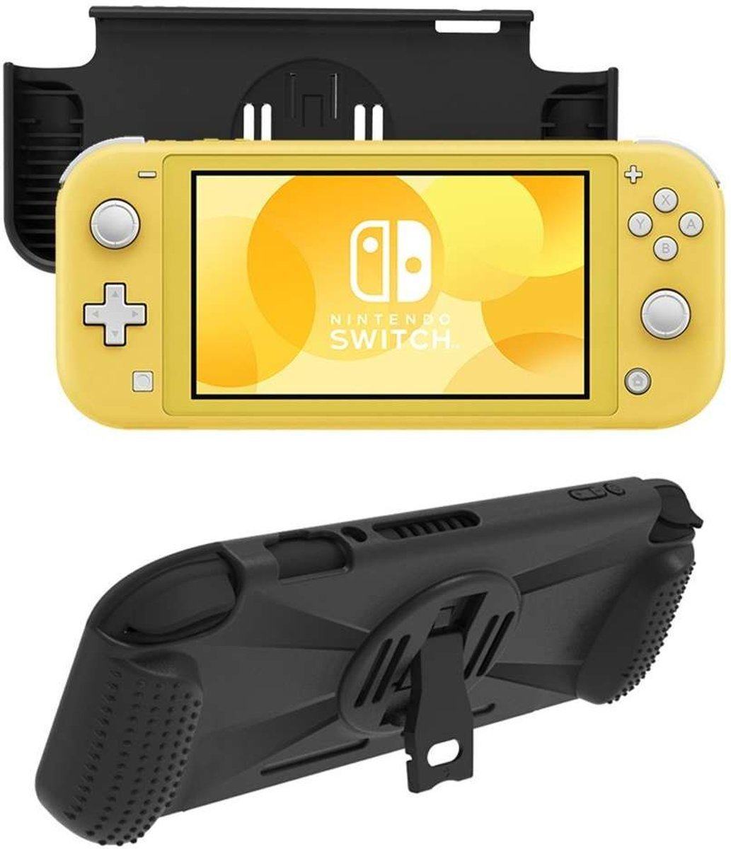 Nintendo Switch Lite Rugged Game Case - Zwart