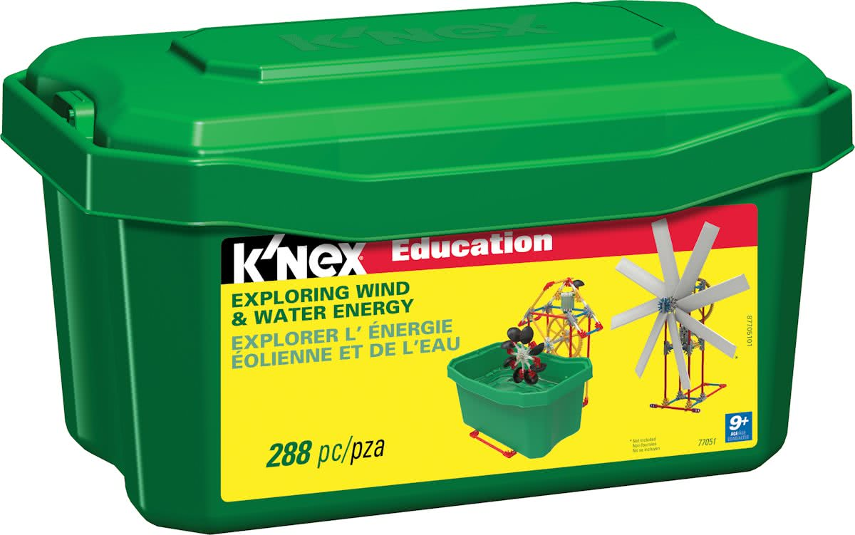 KNEX Education Exploring Wind & Water Energy - Bouwset