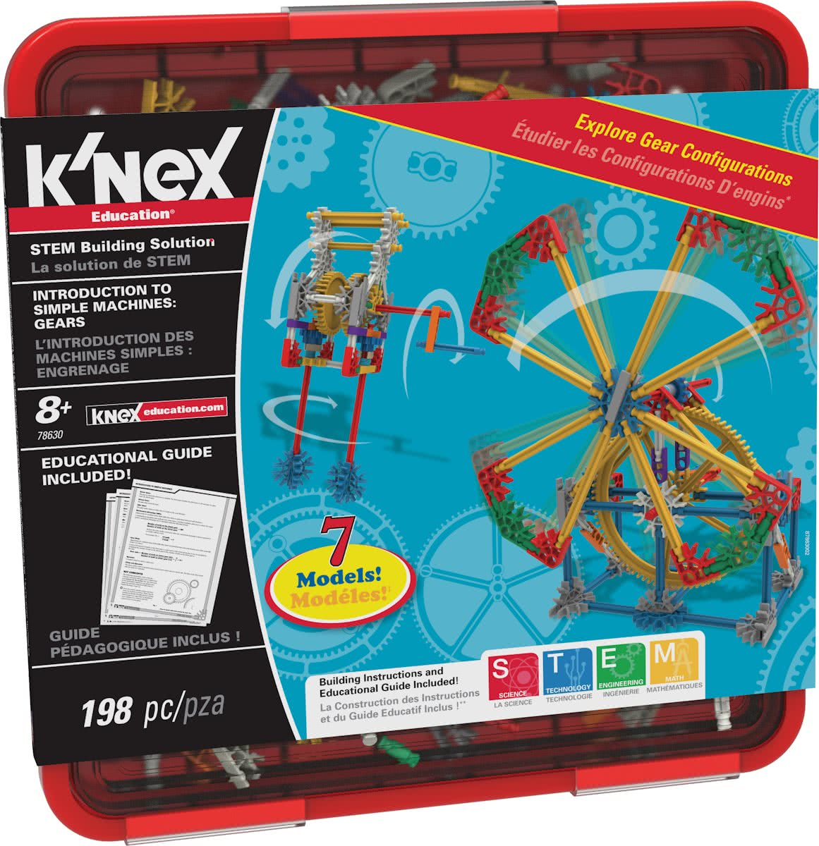 KNEX Education Intro to Simple Machines: Gears - Bouwset