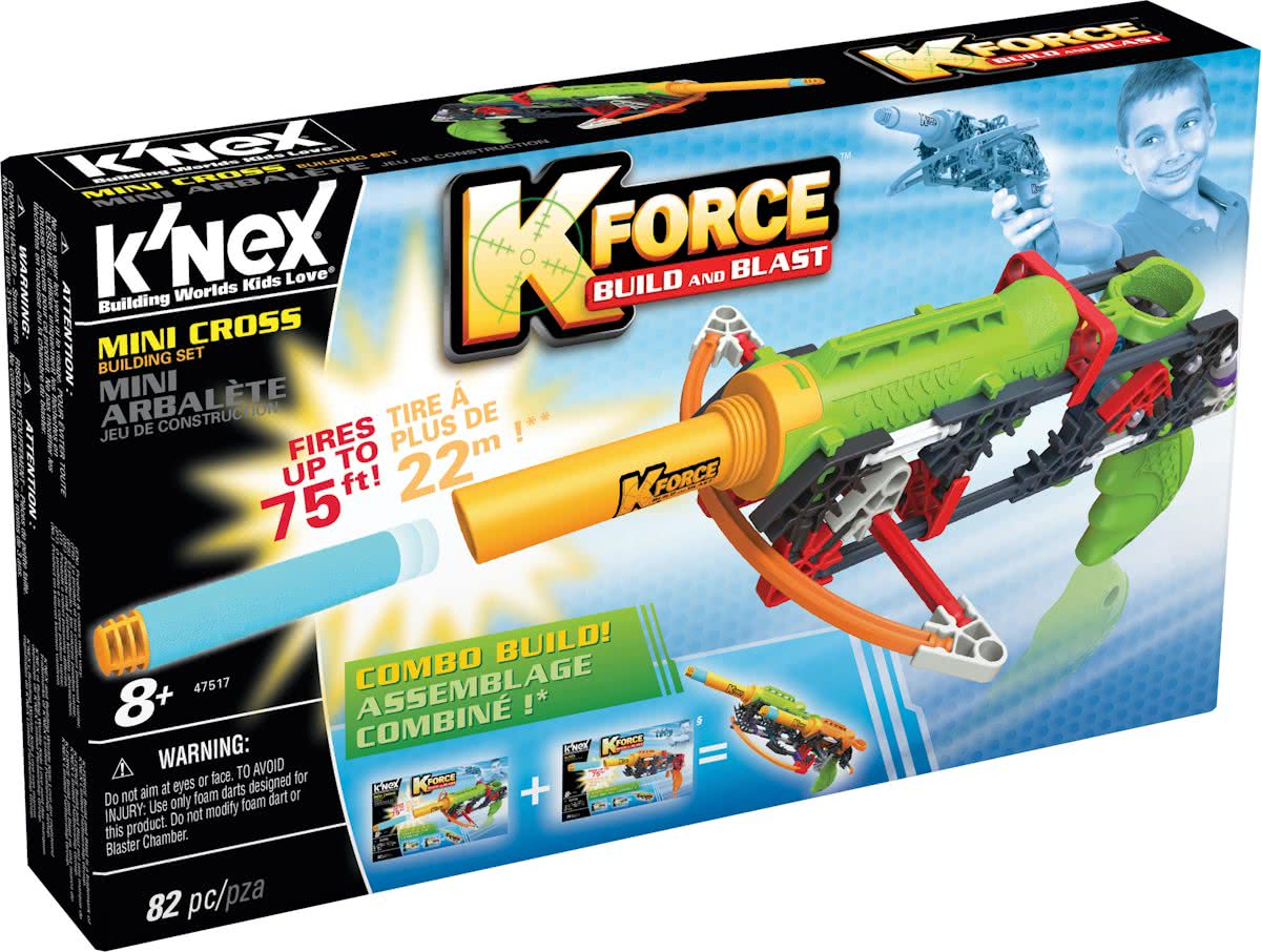 KNEX K-FORCE Mini Cross - Blaster