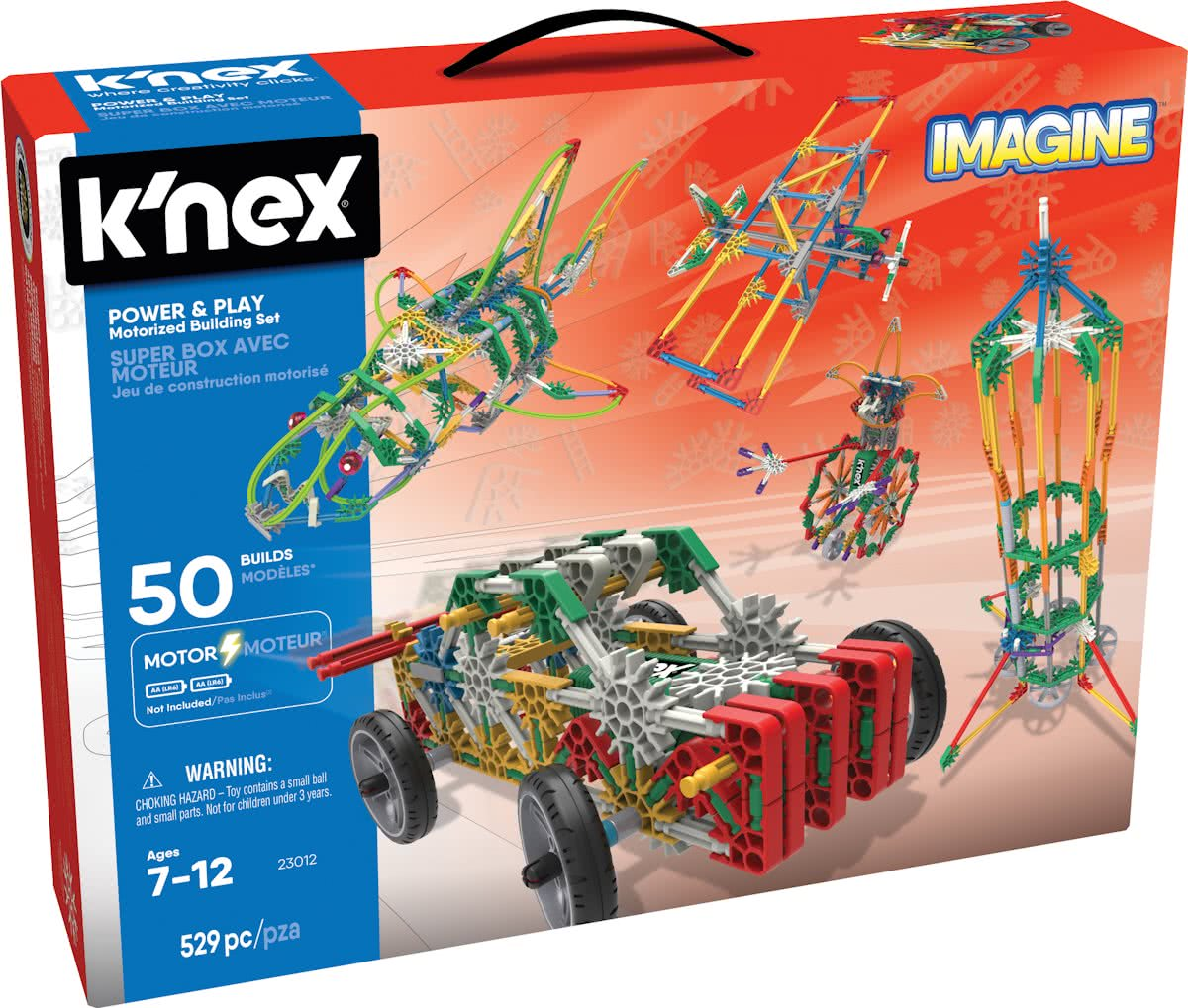 KNEX Power And Play 50 Model Motorized - Bouwset