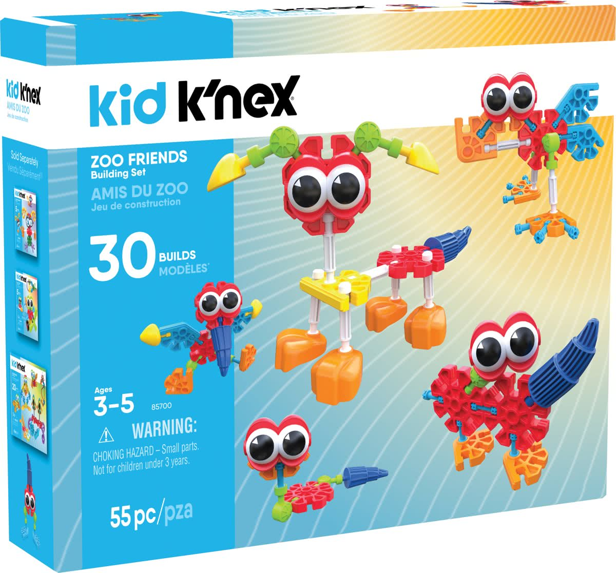 Kid K'NEX Zoo Friends
