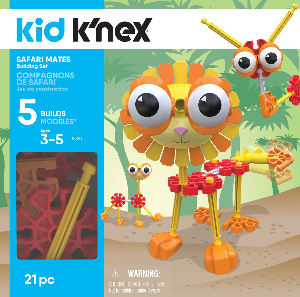 Kid Knex - Safari Mates Building Set