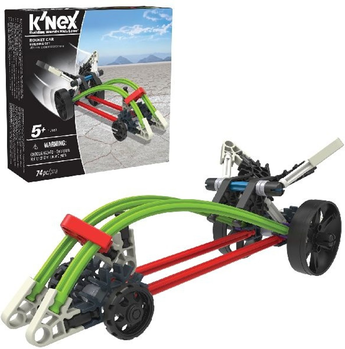 Knex Rocket Car Building Set