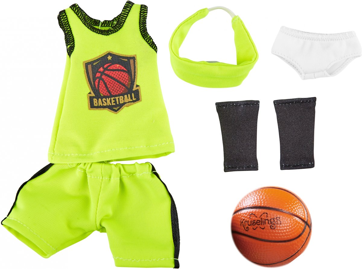 Kruselings Joy Basketbalspeleroutfit 6-delig