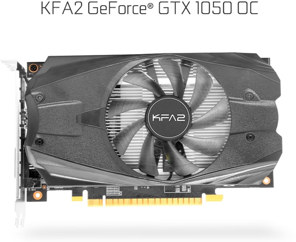 KFA 2 Geforce GTX 1050