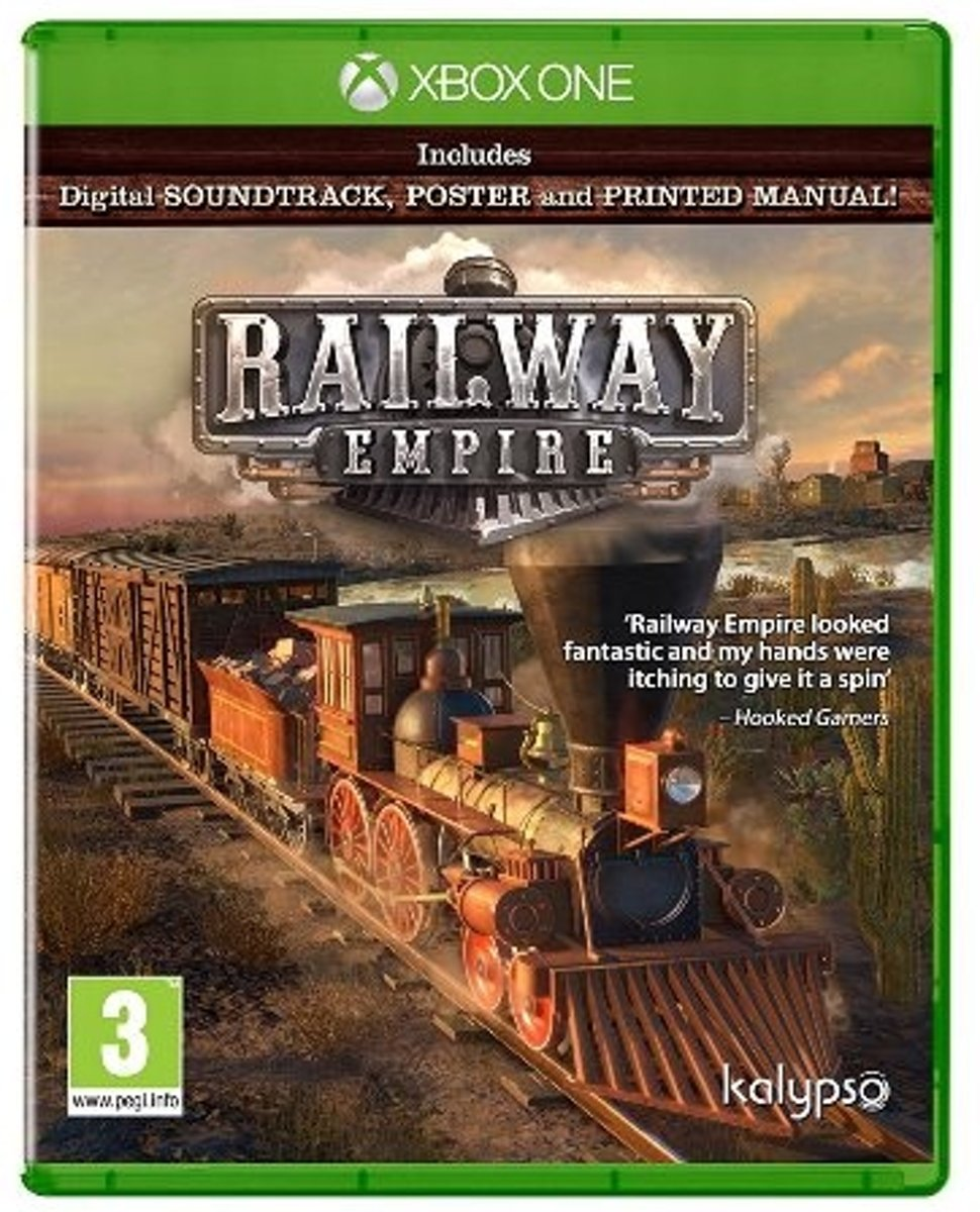 Kalypso Railway Empire, Xbox One Basis Xbox One Engels video-game