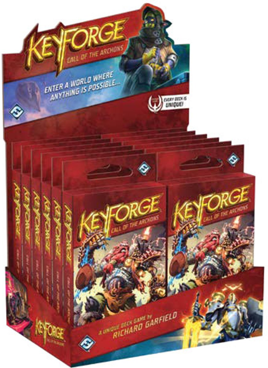 KeyForge: Call of the Archons - Archon Deck Display (1 Deck)