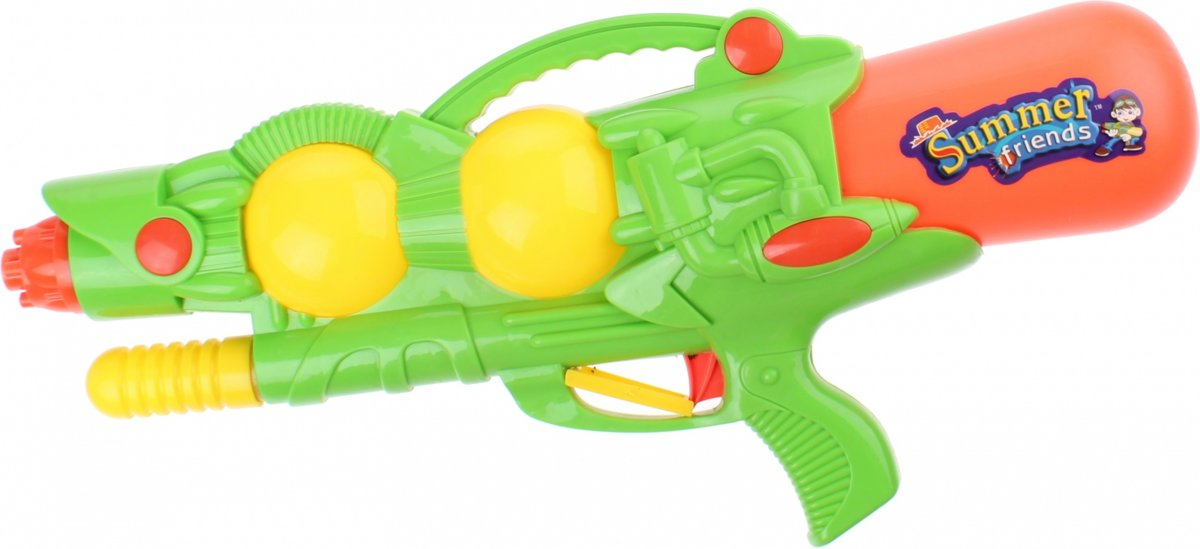 Kids Fun Waterpistool Summer Friends 46 Cm Groen/oranje