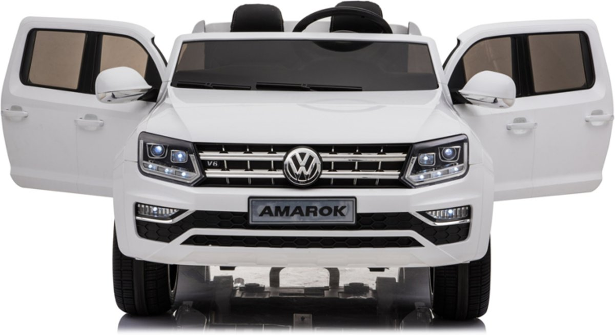 Volkswagen Amarok 12v wit 2 persoons uitneembare accu BlueThooth