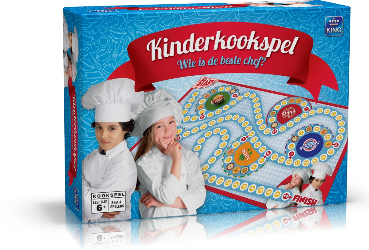 Kinderkookspel Wie Is de Beste Chef? - Kinderspel