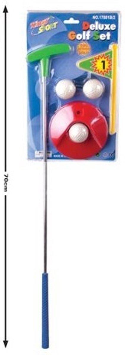 Golf set rood