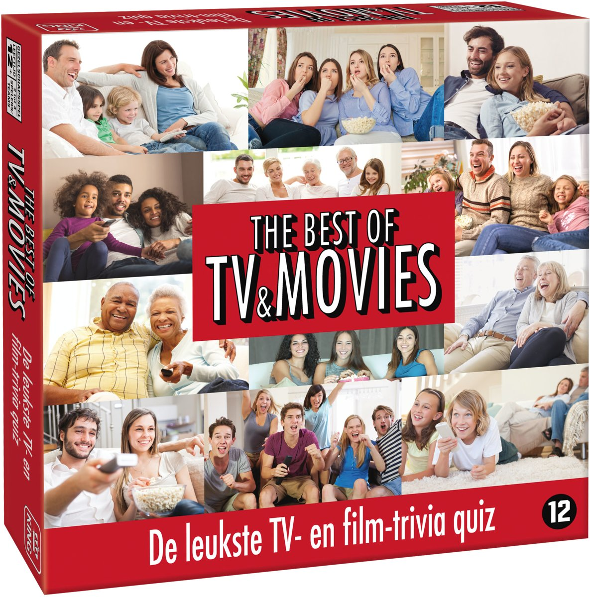 Best of TV & Movies - Bordspel met Vragen -