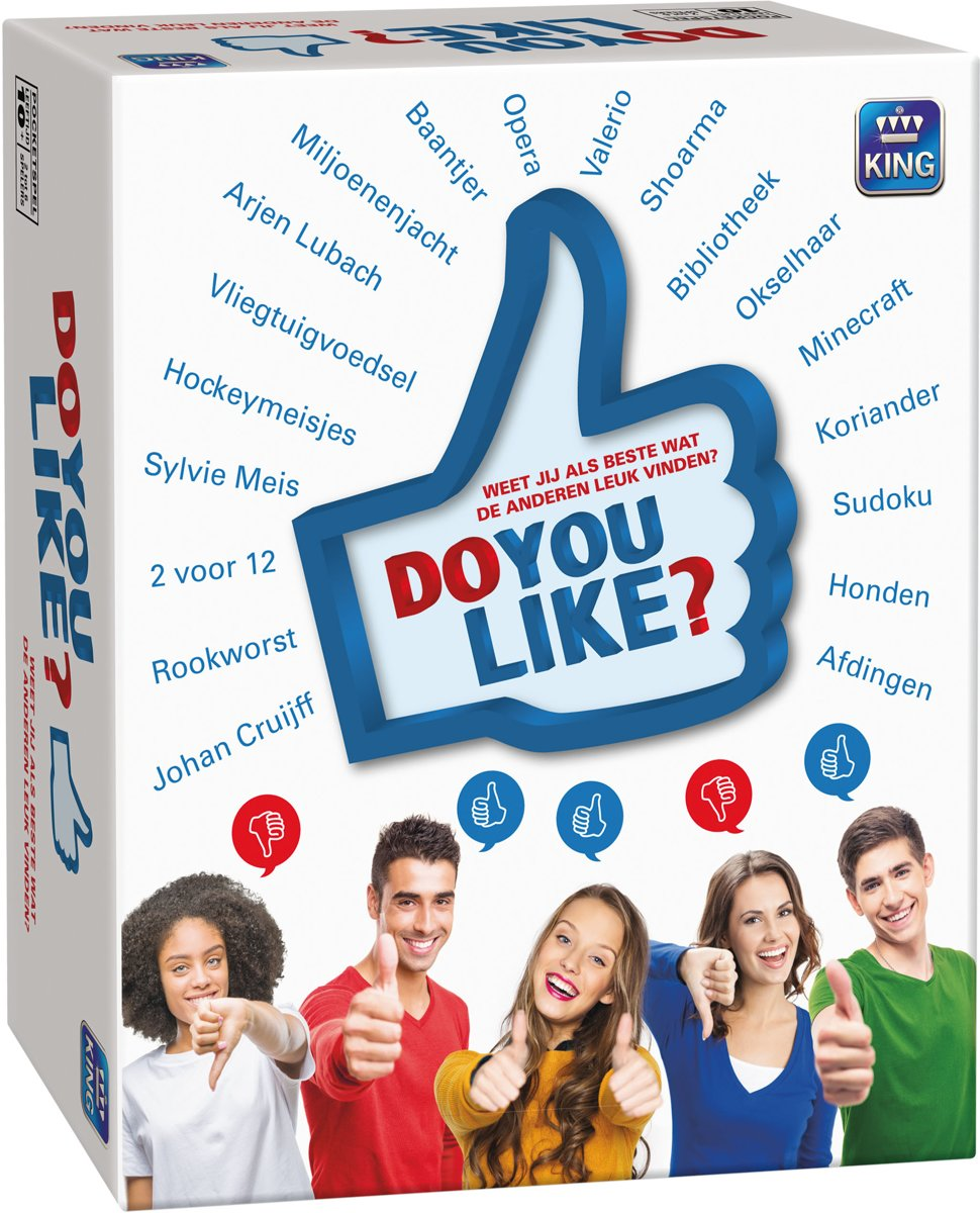 Do You Like? -   - Partyspel - Inschattingsspel