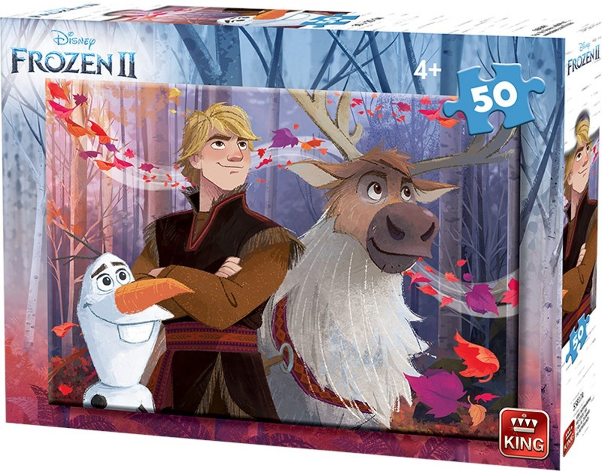 King Legpuzzel Disney Frozen Ii Junior 50 Stukjes (a)