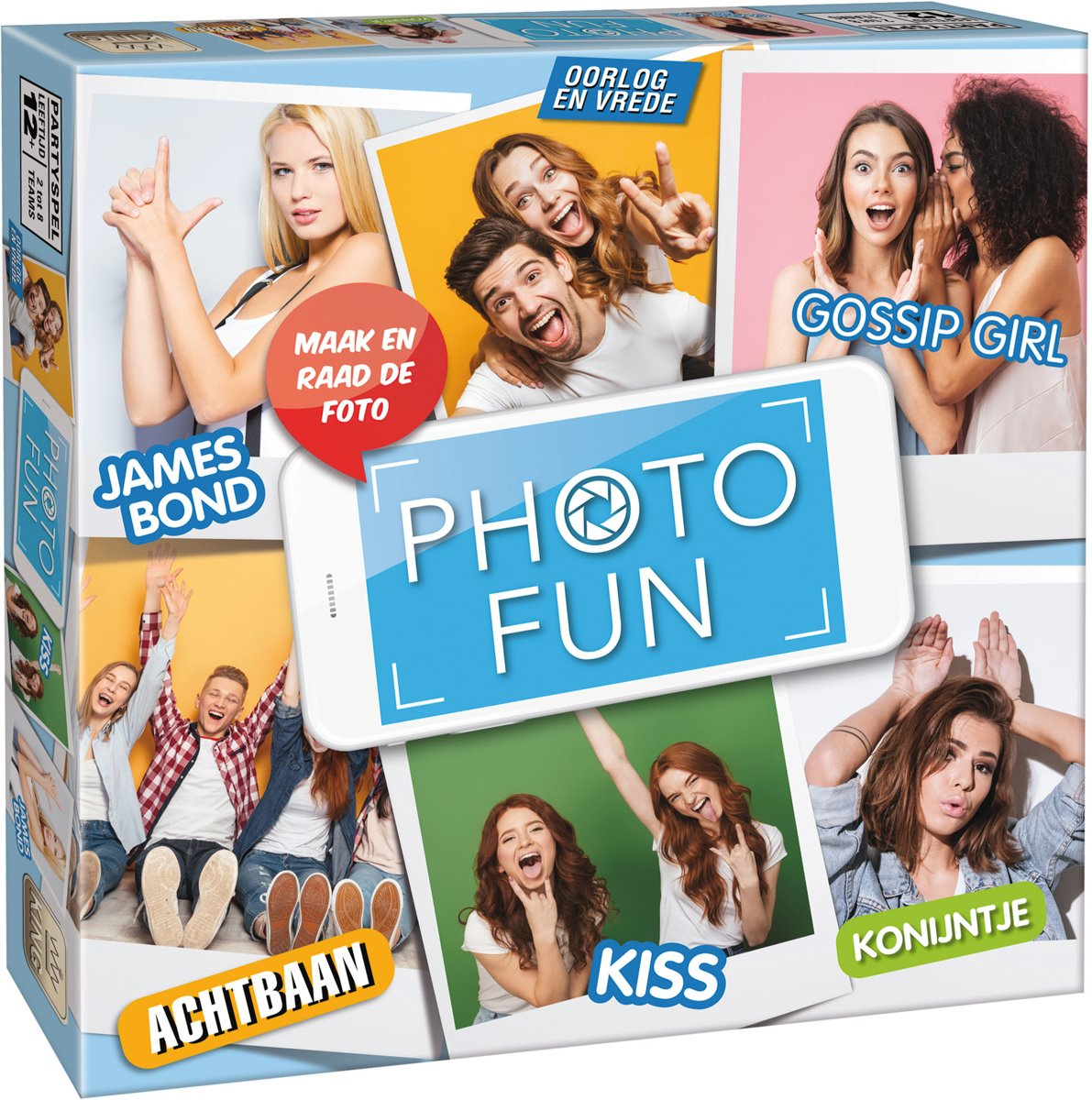 Photofun - Bordspel - King - Partyspel met Selfies