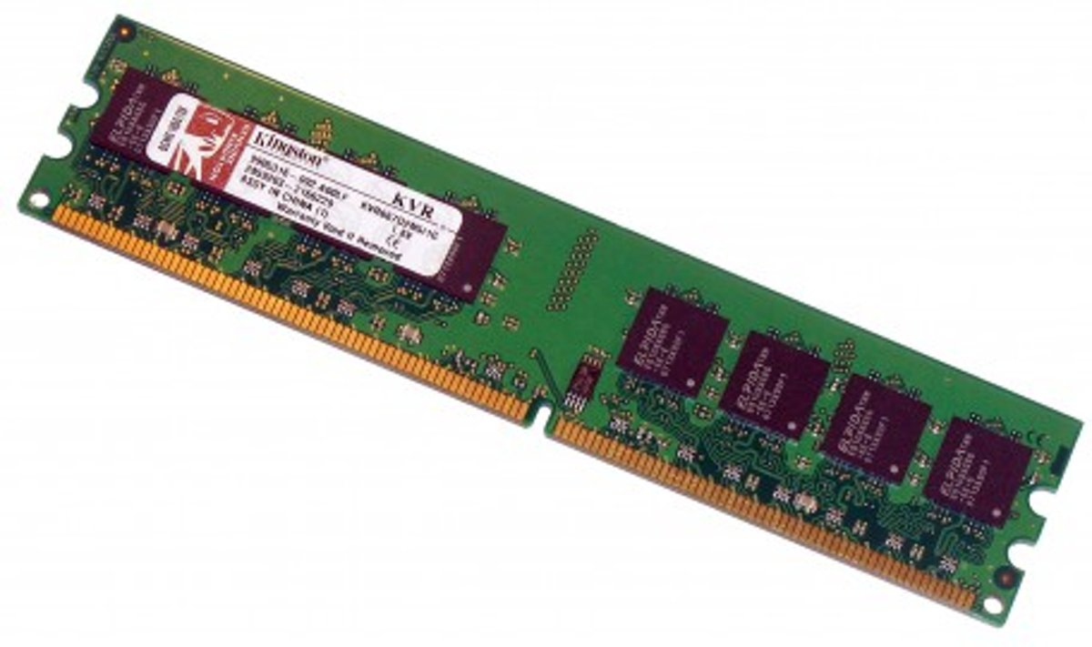 Technology ValueRAM 512MB DDR2-667 0.5GB DDR2 667MHz geheugenmodule