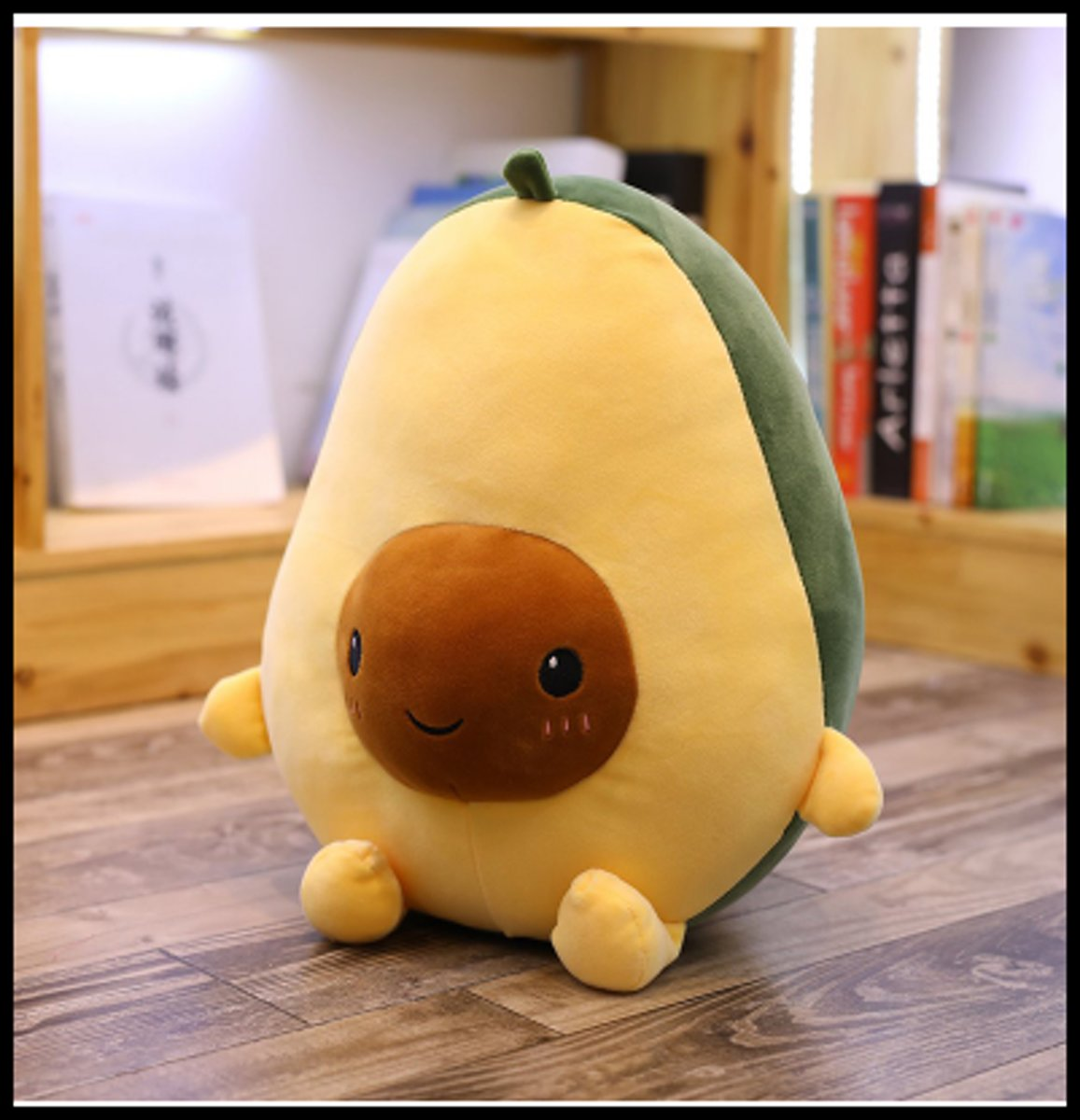 Knuffies Knuffel Avocado - Pluche - 30 Centimeter