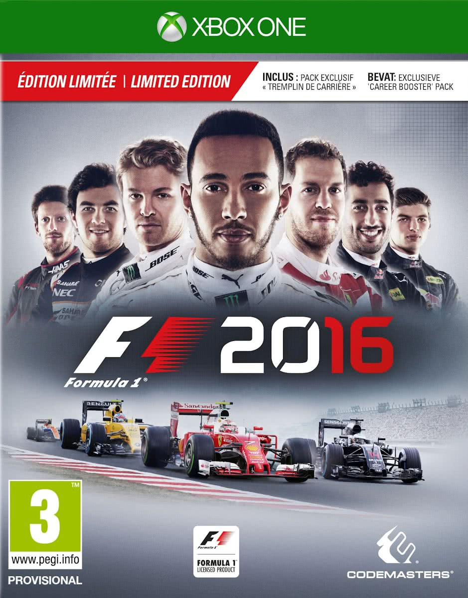 F1 2016 - Limited Edition - Xbox One