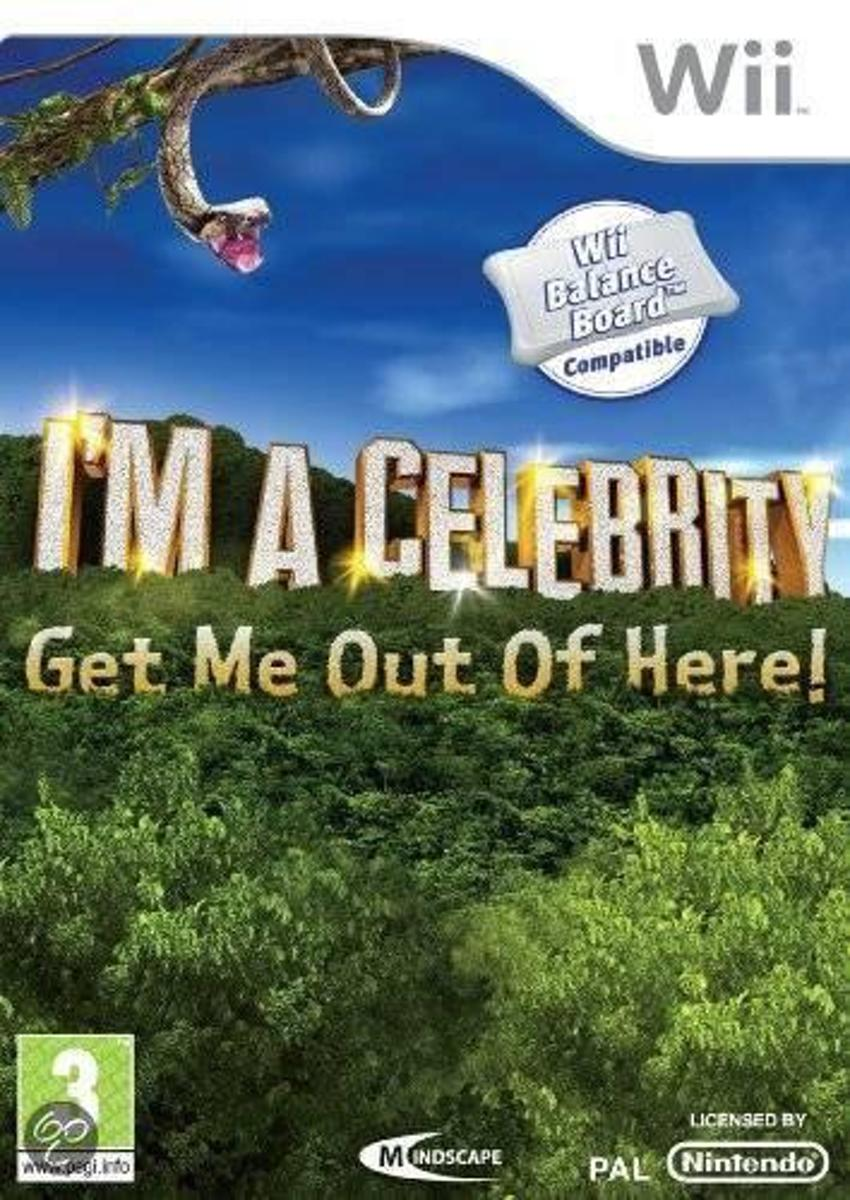 Im A Celebrity, Get Me Out Of Here Wii