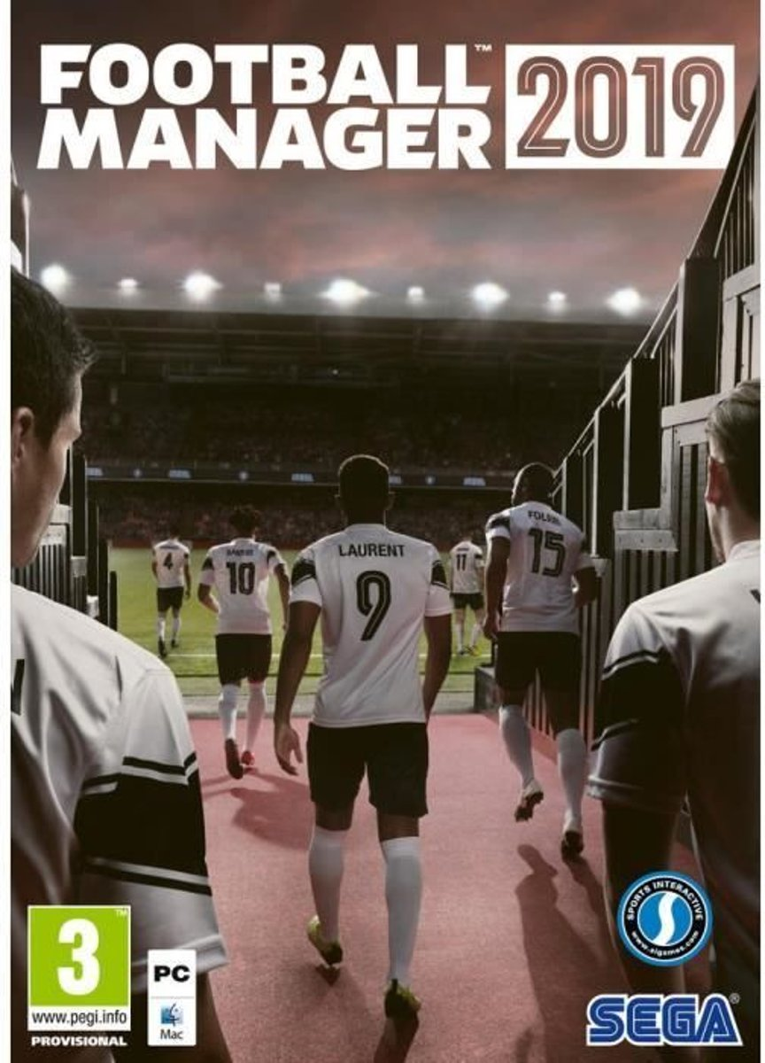 Koch Media Football Manager 2019, PC video-game PC/Mac/Linux Basis Frans