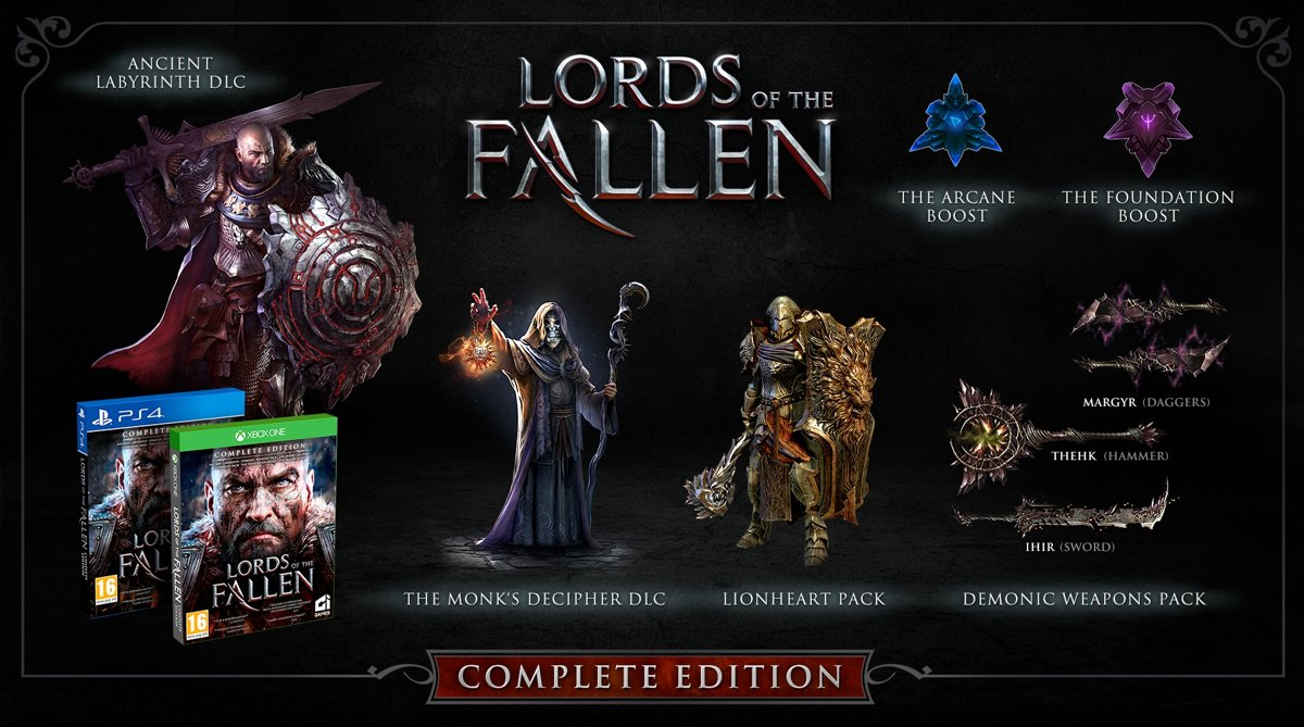 Lords of the Fallen (Complete Edition) PS4
