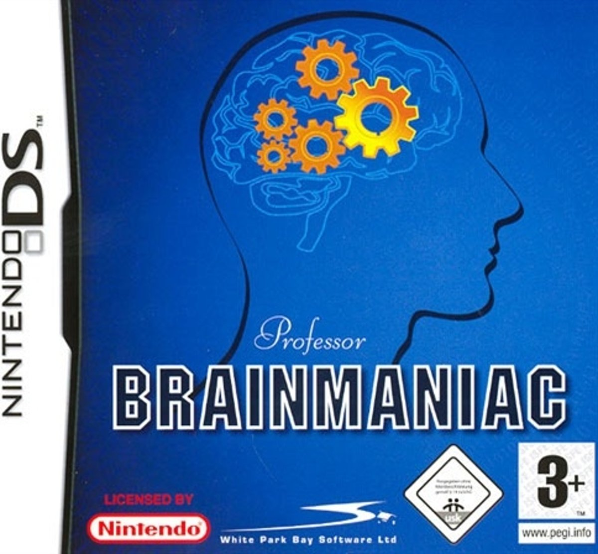 Professor Brainmaniac Nds
