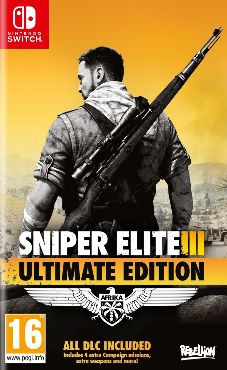 Sniper Elite 3: Ultimate Edition - Switch