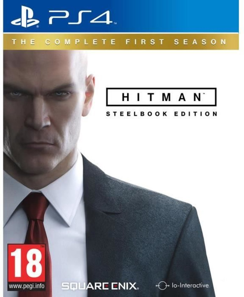 Square Enix HITMAN: The Complete First Season, PS4 Steelbook PlayStation 4 Frans video-game