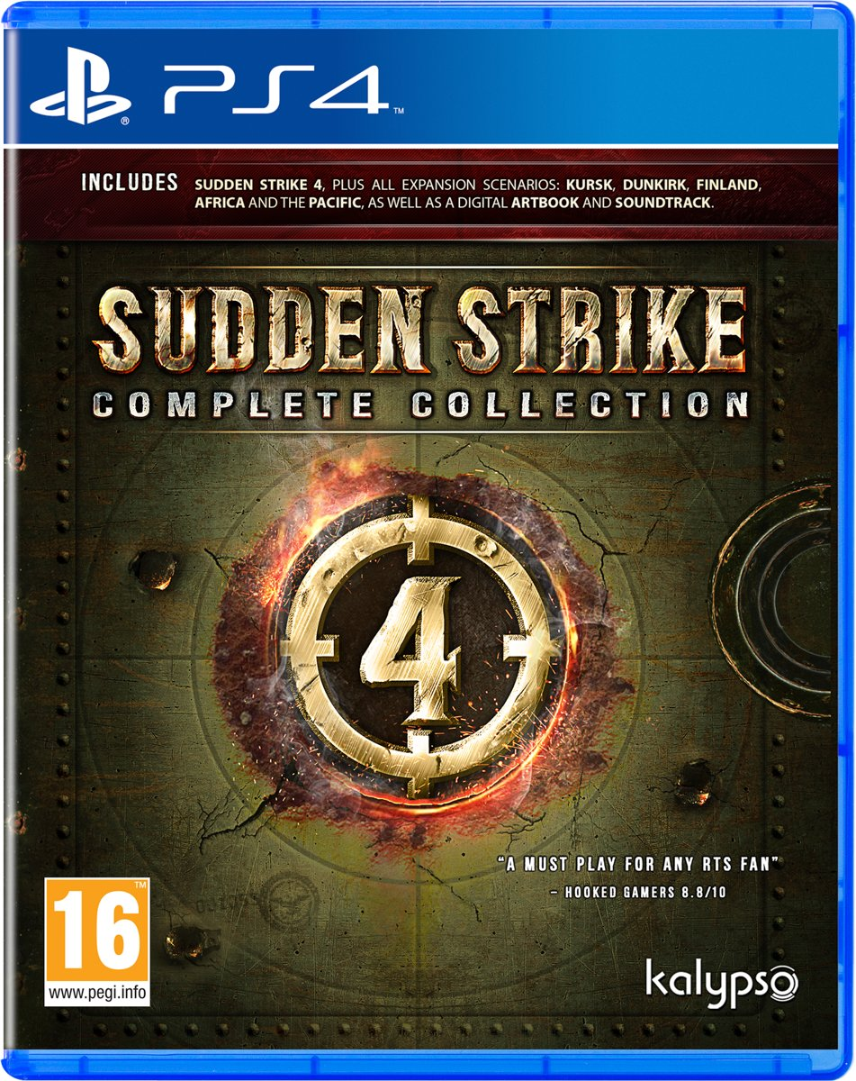Sudden Strike 4 Complete Collection - PS4