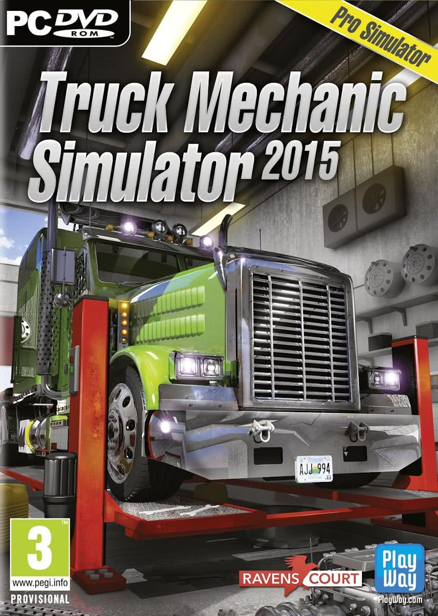 Truck Mechanic Simulator 2015 - Windows