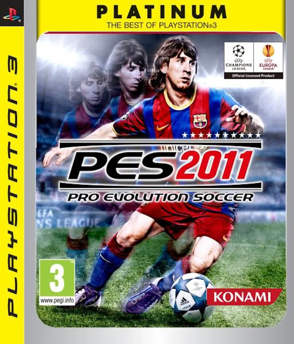 Pro Evolution Soccer 2011 Platinum /PS3