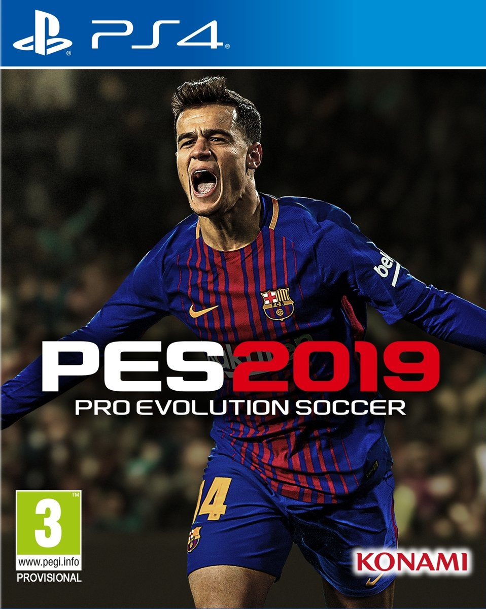 Pro Evolution Soccer 2019 (PES) - PS4
