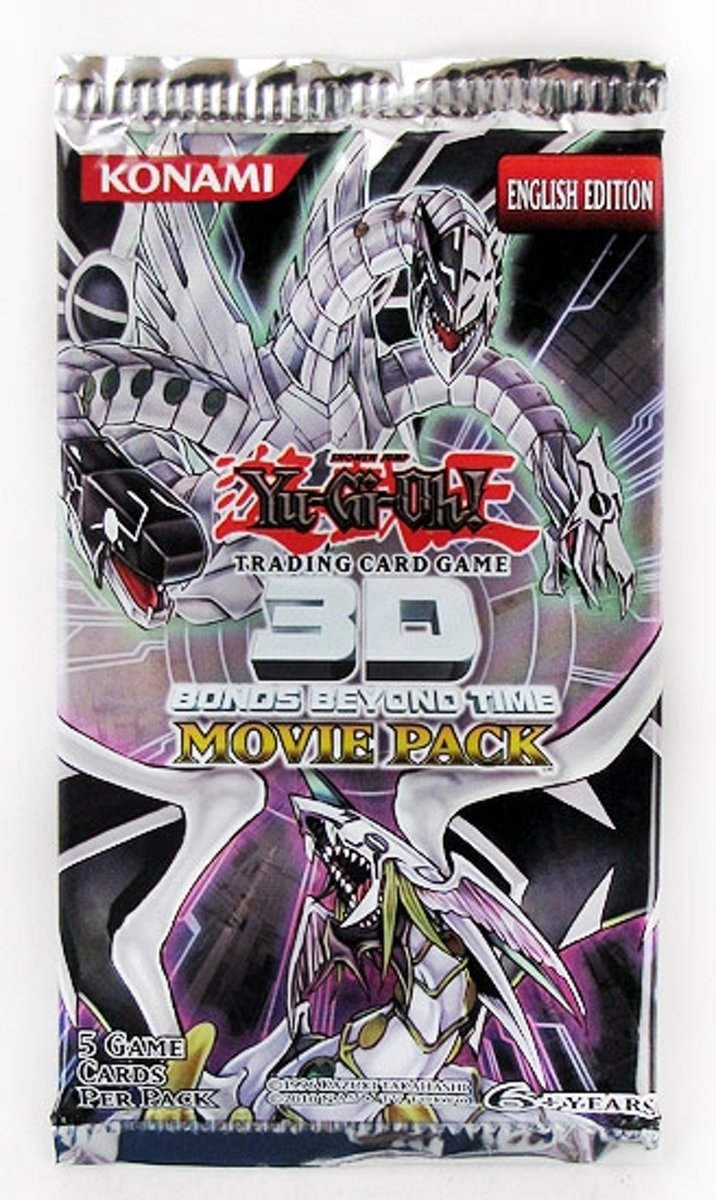 Yu-Gi-Oh! 3 Booster Pakjes Bonds Beyond Time Movie Pack