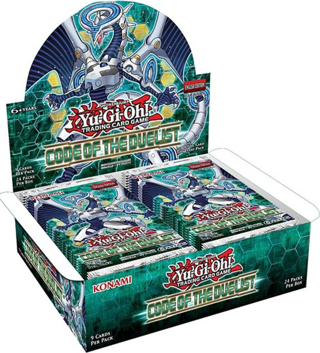 Yu-Gi-Oh! Code of the Duelist Booster Display (24 Pakjes)