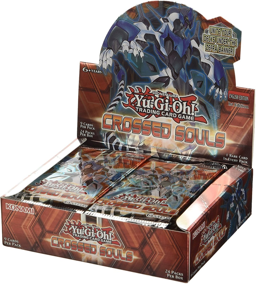 Yu-Gi-Oh! Crossed Souls 24 boosters display box
