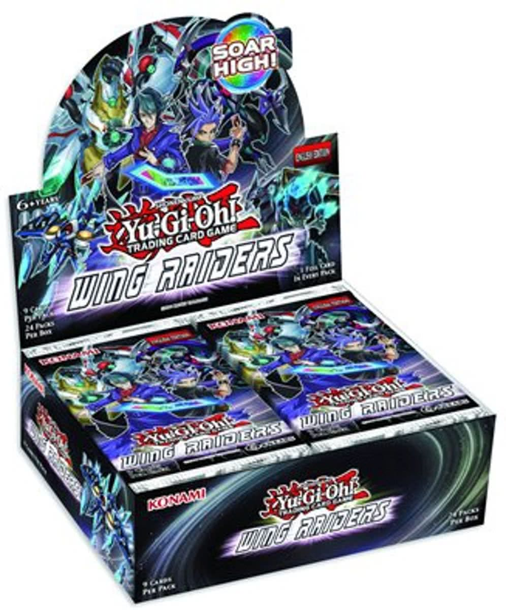 Yu-Gi-Oh! Wing Raiders Booster Display