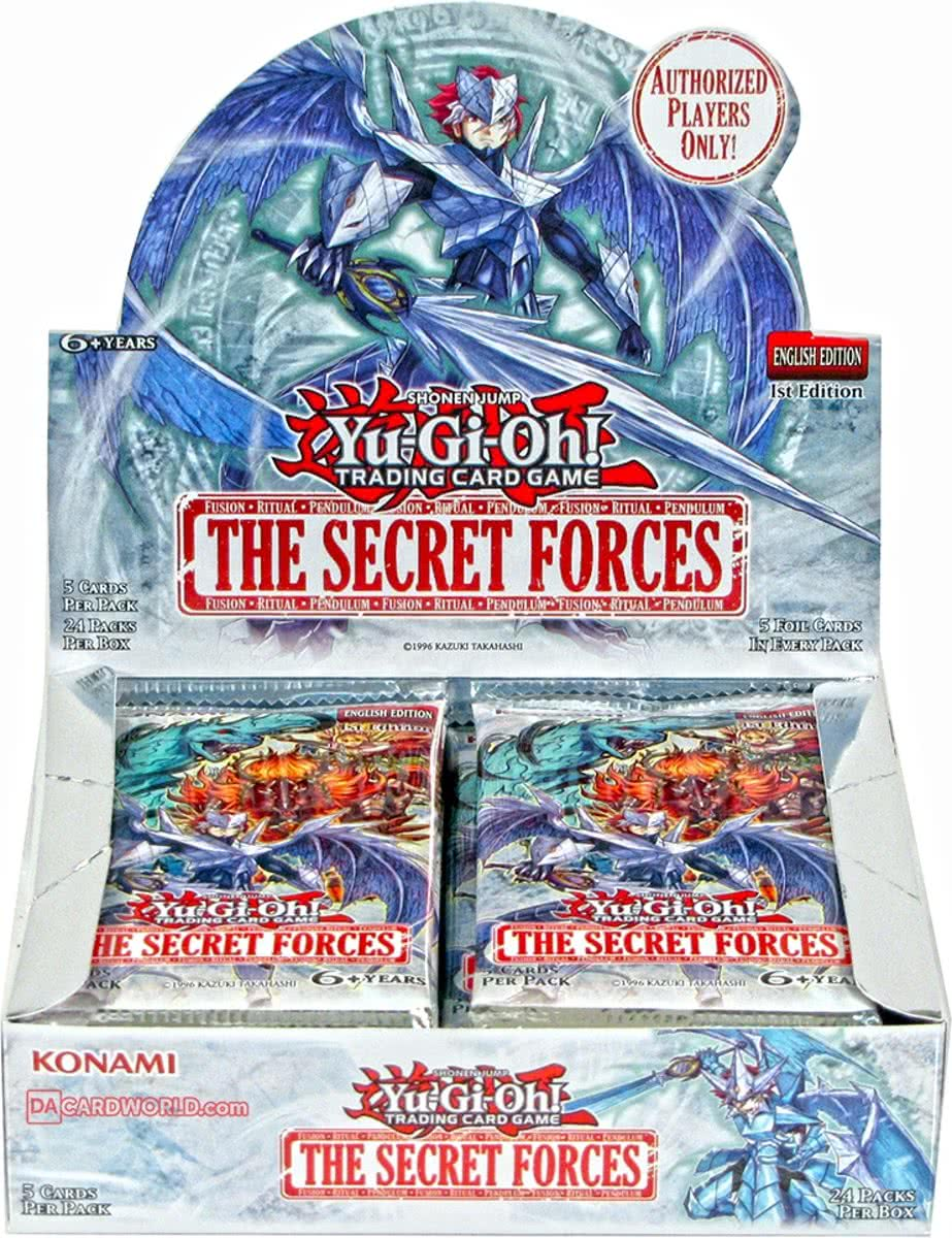 Yu-Gi-Oh: The Secret Forces Booster Display