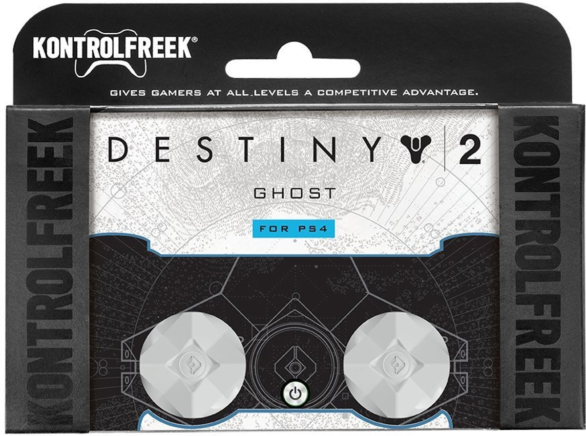 Kontrolfreek thumbstick Destiny white ps4
