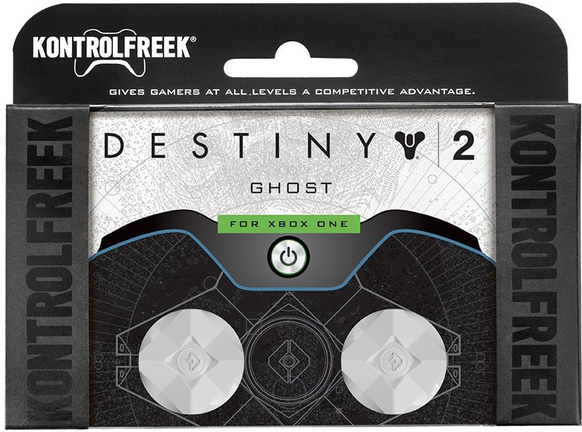 Kontrolfreek thumbstick Destiny white xbox one