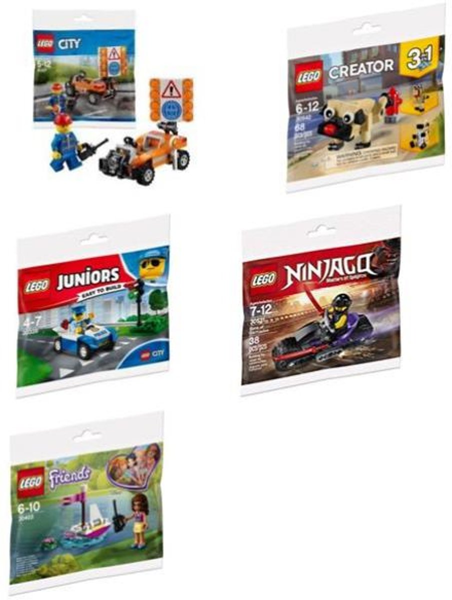 !LEGO MIX CASE 30zakjes/displ REF 6225679