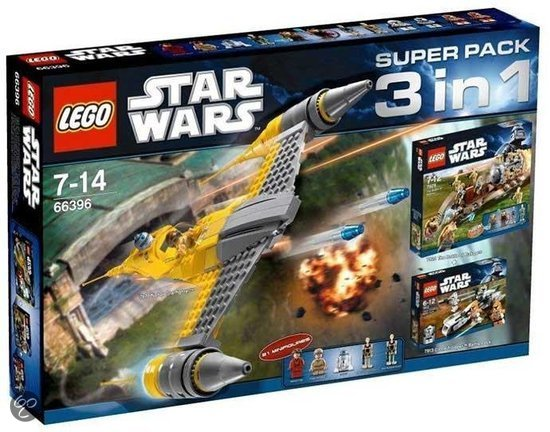 66396 Star Wars 3-in-1 Super Pack