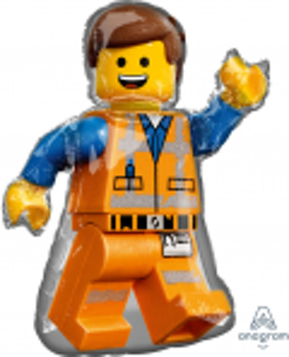 Folieballon supershape Lego movie 2