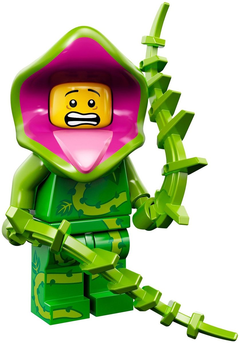 LEGO® Minifigures Series 14 Monsters  - Plantenmonster 5/16 - 71010