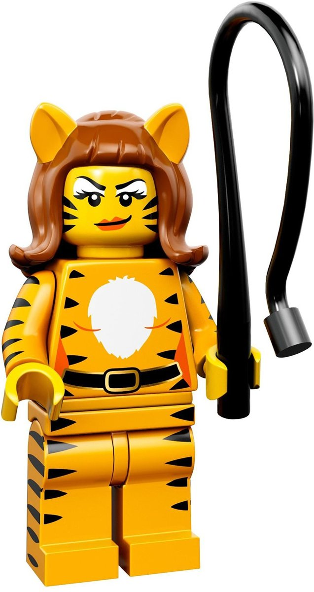 LEGO® Minifigures Series 14 Monsters  - Tijger vrouw 9/16 - 71010