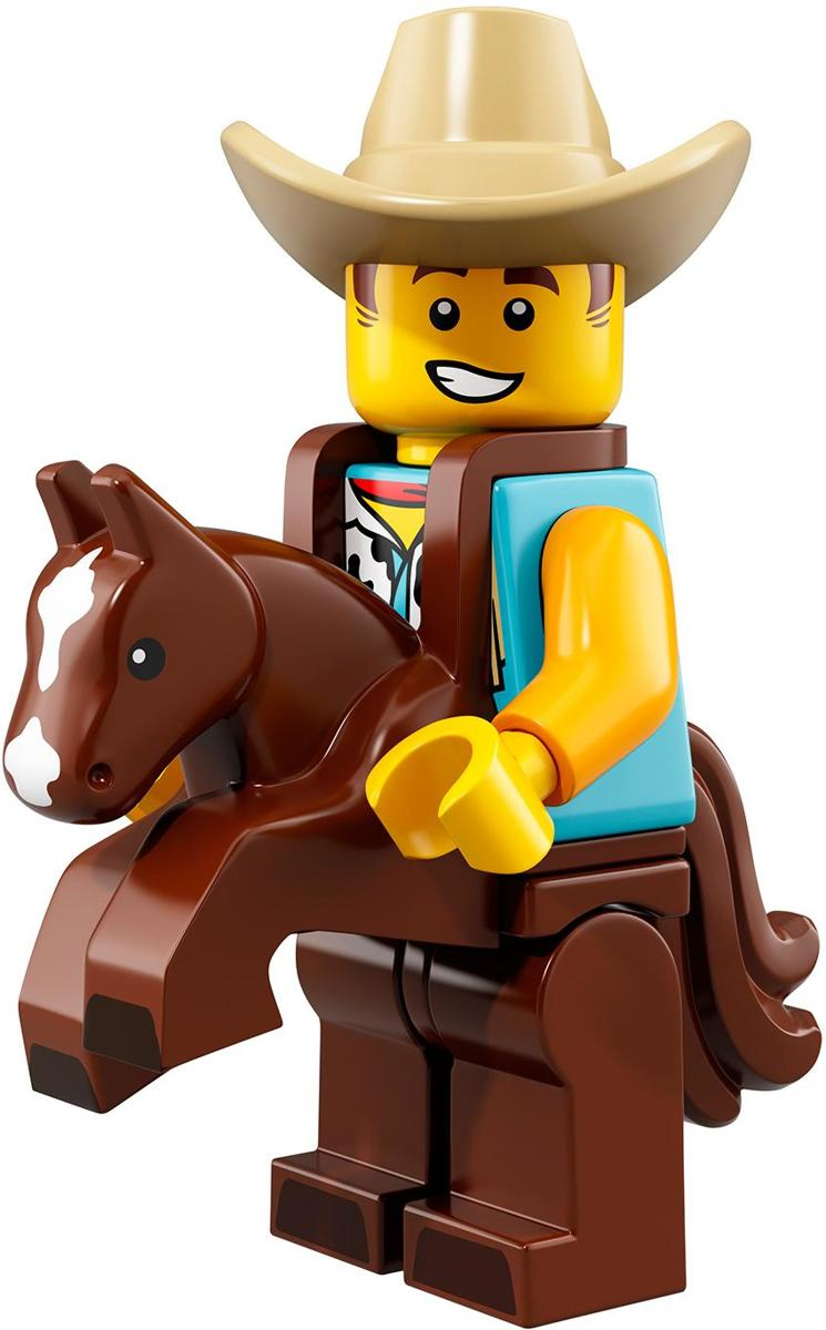LEGO® Minifigures Series 18 - Man in cowboykostuum 15/17 - 71021