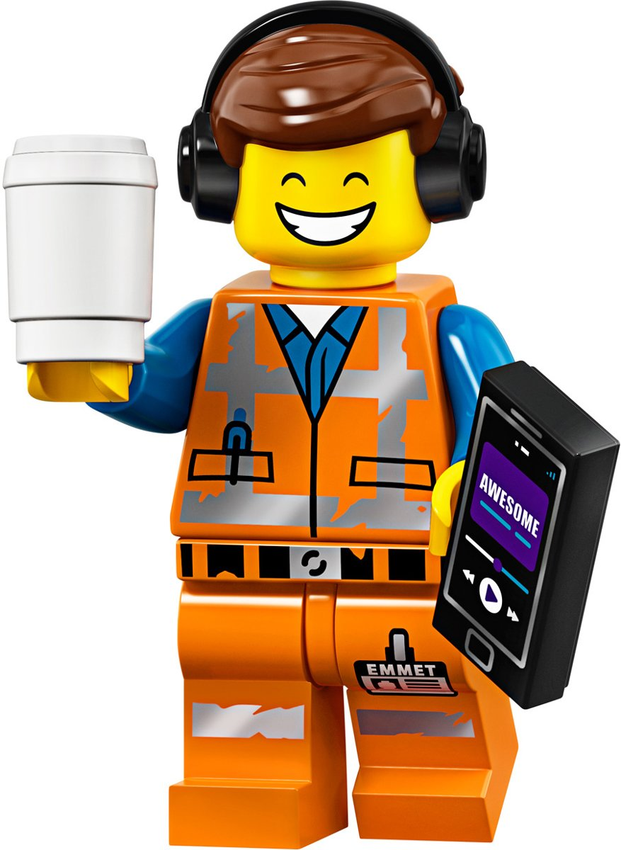 LEGO® Minifigures The lego movie 2 - Super Remix Emmet  1/20 - 71023