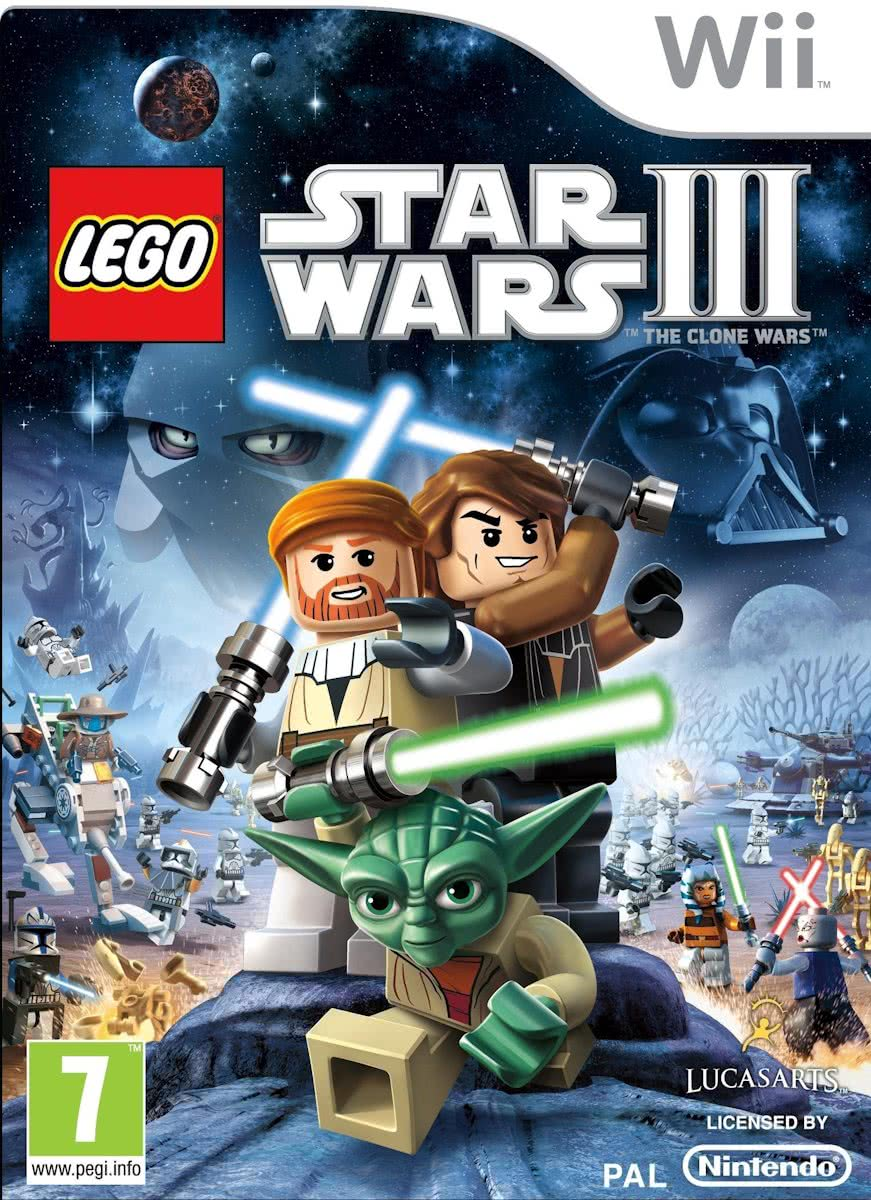 LEGO, Star Wars 3, The Clone Wars Wii