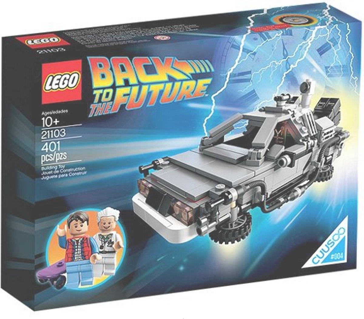 LEGO - Ideas/Cuusoo - The DeLorean Time Machine - 21103