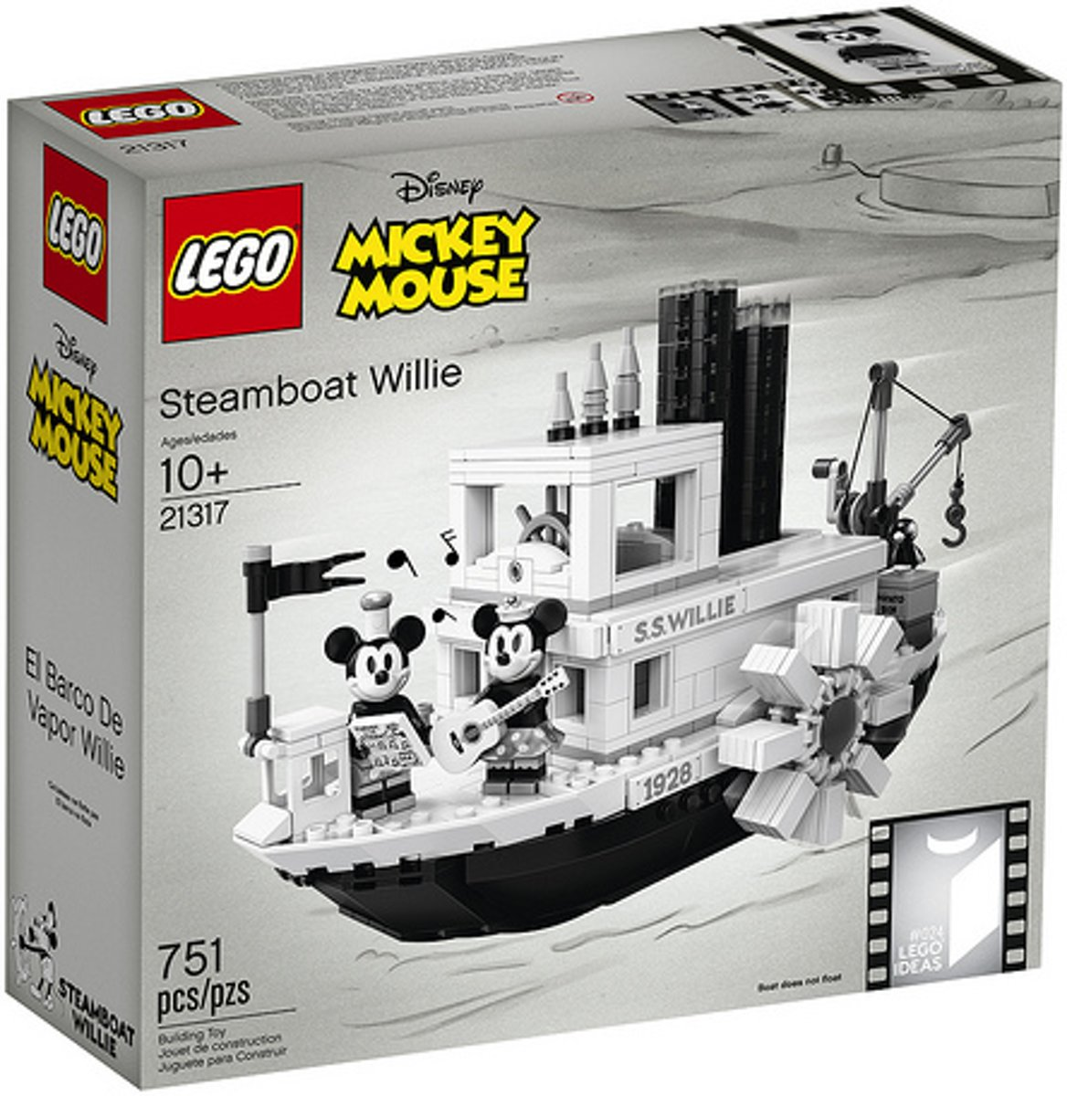 LEGO - Steamboat Willie (21317)